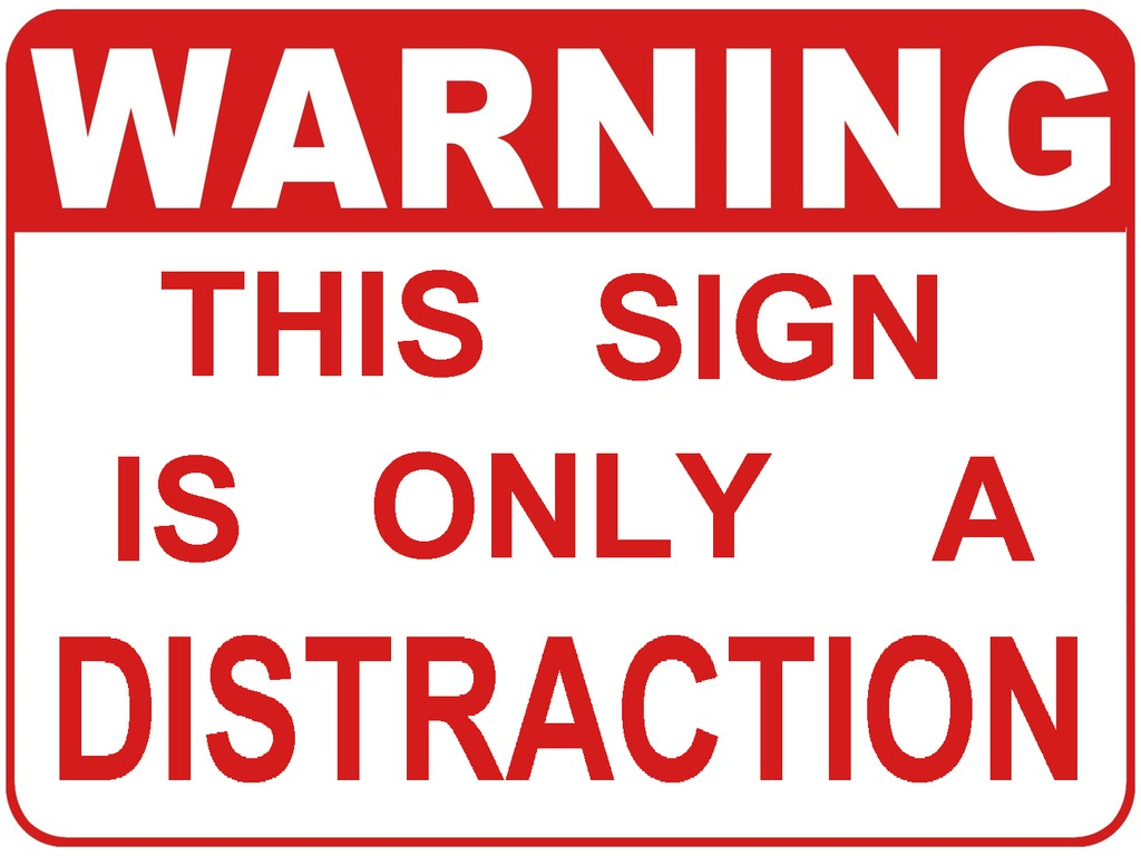 eliminate distractions